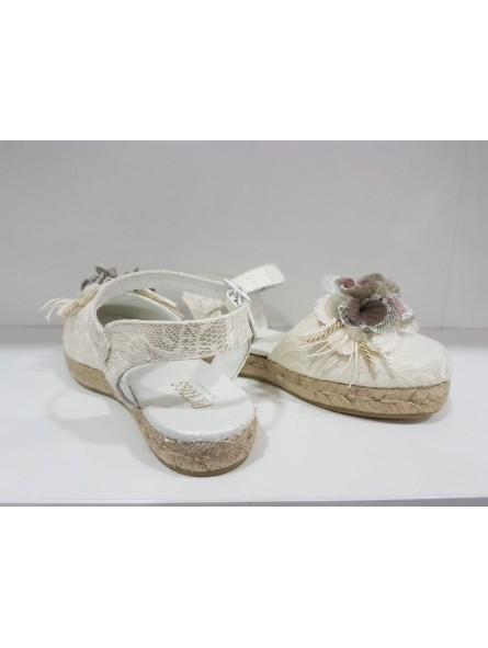 Zapato comunión esparto niña