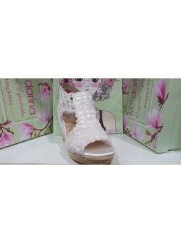 Zapato de novia, modelo Sara